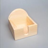 Салфетница из дерева 043-11