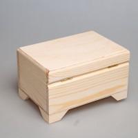 Деревянная шкатулка из сосны 20 х 14 х11,5 см