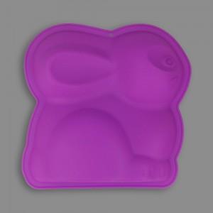 """Форма силиконовая """"Pan-Cake"""" для тортов и пирогов SPC-0017 21 x 20.8 x 3.5 см """"Пасхальный кролик"""""""