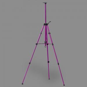 """Мольберт-тренога """"VISTA-ARTISTA"""" VEA-02 алюминий 155 x 80 см 03-фиолетовый"""