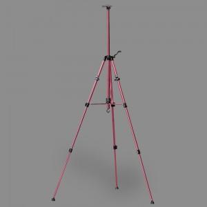 """Мольберт-тренога """"VISTA-ARTISTA"""" VEA-02 алюминий 155 x 80 см 02-розовый"""
