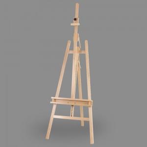 """Мольберт """"Лира"""" с наклонной штангой """"VISTA-ARTISTA"""" VEB-03 бук 171 x 66 см"""