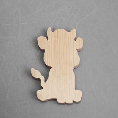 """Фигурка из дерева """"Весёлый бычок"""" 1-9.929"""