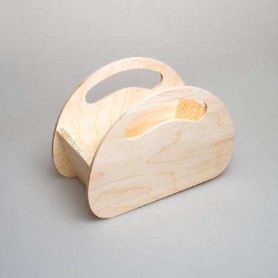 Корзинка из дерева 013-1