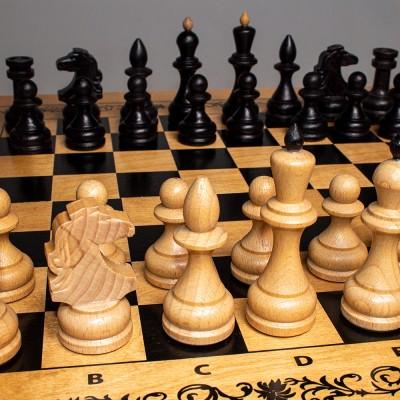 Шахматы «Империя 3 в 1» светл.