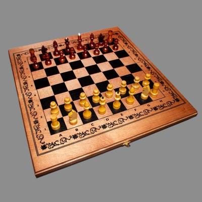 Шахматы «Империя 3 в 1» тонир.