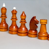 Фигуры шахматные турнирные С-4 (деревянные)