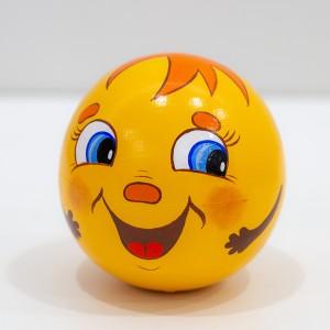 """Шар неваляшка """"Веселый смайлик"""" диаметр 8 см К06"""