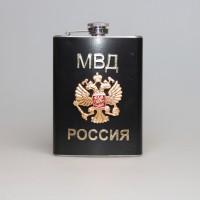 """Фляжка металлическая """"МВД Россия"""""""