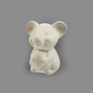 "Заготовка для декорирования ""Love2art"" Мышка с зерном керамика 5 х 4.5 х 7 см"