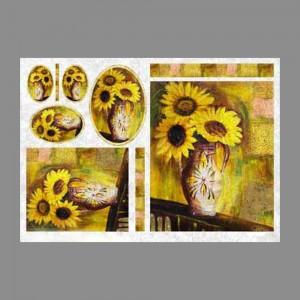 "Бумага рисовая IRP 32 x 45 0040 Натюрморт с подсолнухами ""Love2art"""