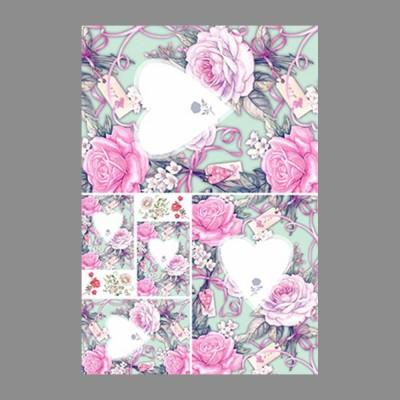 """Бумага рисовая IRP 32 x 45 0200 Любовное послание """"Love2art"""""""
