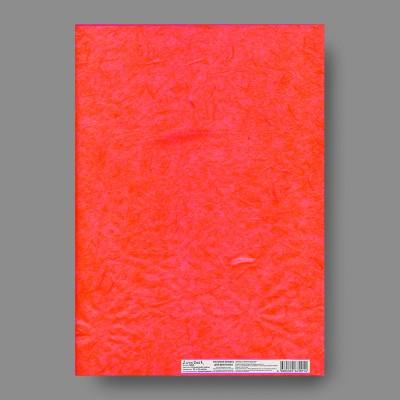 """Бумага рисовая однотонная MRK 32 x 22 01 красный """"Love2art"""""""