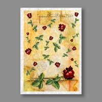 "Бумага рисовая IRP 32 x 45 0033 Письмо с розами ""Love2art"""