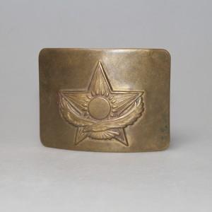 Пряжка для войскового армейского ремня (Казахстан)