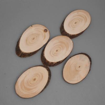 Деревянный спил (овальный тип)