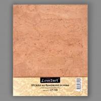 "Пробка на бумажной основе, ""Love2art"", 20 см х 25 х 0.3 см"