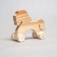 Лошадка на колесиках (малая)