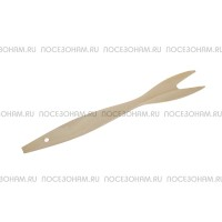 Вилка деревянная двузубая (для мяса)