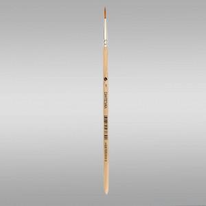 Кисть художественная синтетика №1 (круглая)