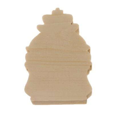 Фигурка из дерева новогоднее украшение №6