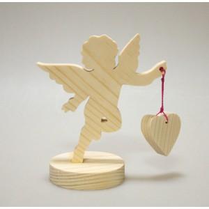 """Фигурка на подставке """"Ангел с сердечком"""""""