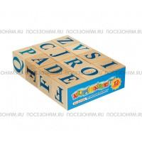 Кубики Алфавит английский, 12 шт.
