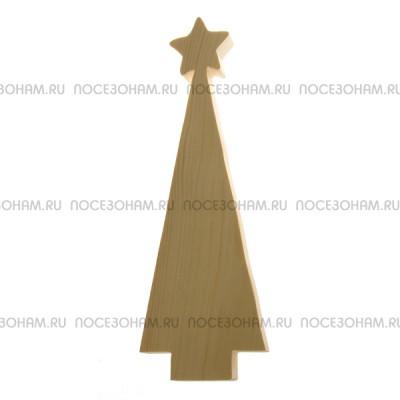 """Деревянная пиленная фигурка """"Новогодняя елка"""""""