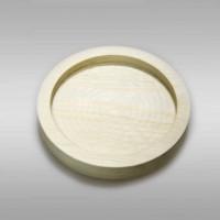 Декоративная тарелочка из сосны
