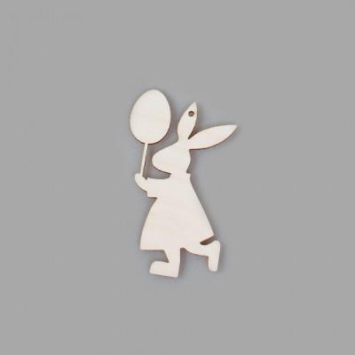 """Фигурка-подвес плоская """"Кролик с шариком"""""""