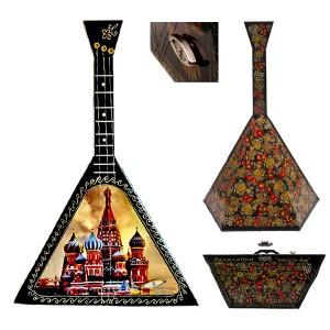 """Балалайка-сувенир музыкальная """"Москва"""""""