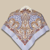 Павловопосадский платок «Венецианская ночь»