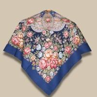Павловопосадский платок «Цветочная нимфа»