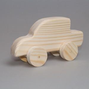 """Игрушка из дерева """"Автомобиль-1"""" (на колесиках)"""