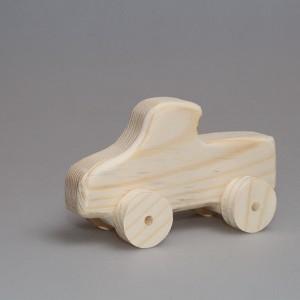 """Игрушка из дерева """"Грузовичок"""" (на колесиках)"""