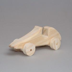 """Игрушка из дерева """"Гоночный автомобиль"""" (на колесиках)"""