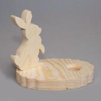 """Подставка для пасхального яйца """"Кролик"""""""