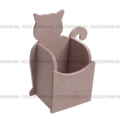"Карандашница ""Кошка"" из МДФ 530"