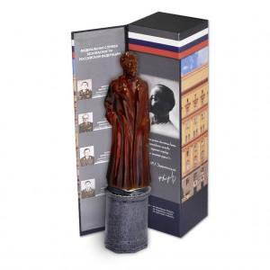 Набор «ФСБ. Лубянка» с штофом-памятником фарфоровым Ф.Э.Дзержинский