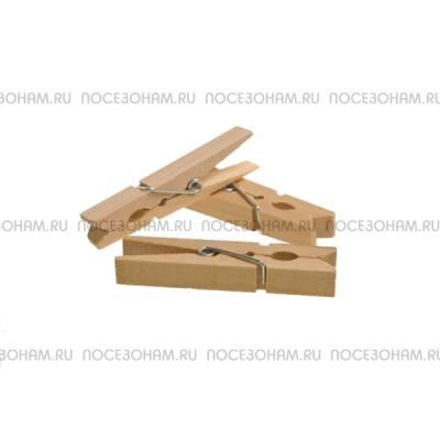 Прищепка деревянная декоративная