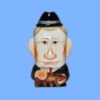 Набор «Новейшая история» с флягой фарфоровой В.В.Путин