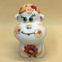 Солонка обезьяна девочка