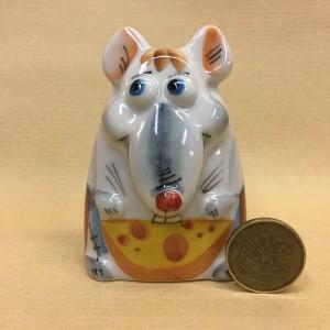 Солонка фарфоровая Крыс
