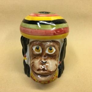 Солонка обезьяна растаман