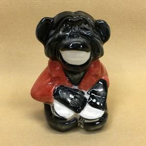 Солонка обезьяна ямайка чёрный