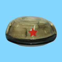 Кружка фарфоровая Солдат с крышкой Кепи