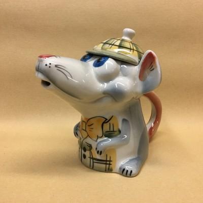 Чайник фарфоровый Крыса