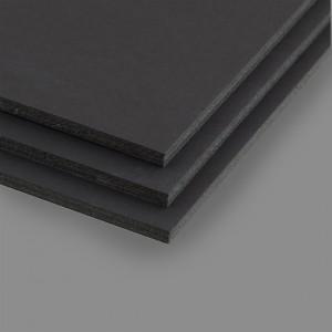 """Пенокартон 5 мм черный 580 г/м2, """"Love2art"""", 50 х 70 см"""
