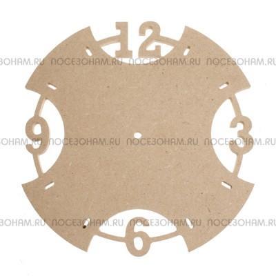 Деревянная заготовка циферблата для часов из МДФ