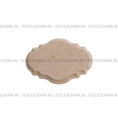Накладка для декора фигурная мини из МДФ 900-1.15